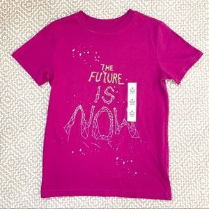 A22 Cat & Jack Purple Future is Now Tee